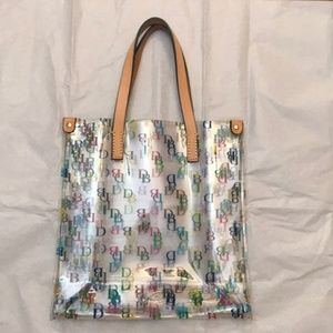 DOONEY & BOURKE Signature Clear Tote Handbag Purse